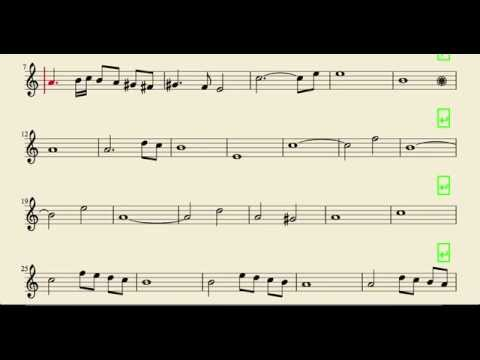 Ave Maria Caccini Easy Sheet Music for Flute Violin and Oboe