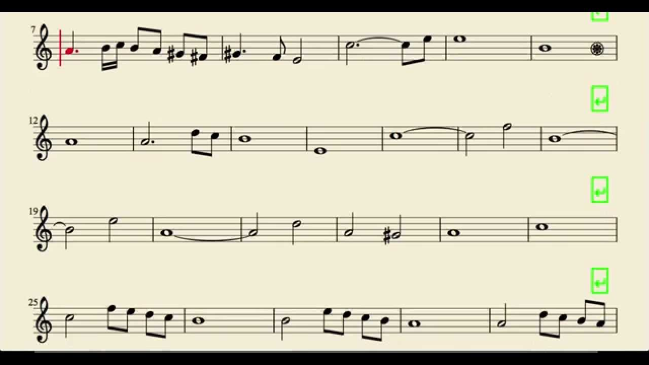 Ave Maria Caccini Easy Sheet Music for Flute Violin and Oboe - YouTube