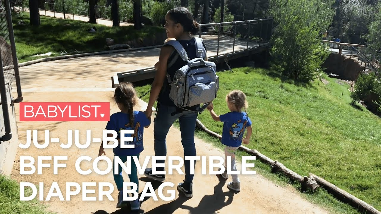 Ju Be Bff Convertible Diaper Bag Review