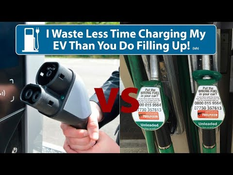 I Spend Less Time Charging My EV Than You Do Filling Up Your ICE! (ish)