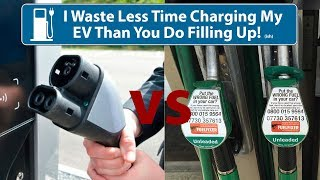 i spend less time charging my ev than you do filling up your ice ish