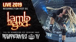 Lamb of God - Now You've Got Something To Die For (Live at Resurrection Fest EG 2019, Spain)