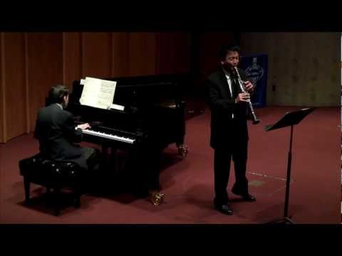 Burt Hara - Muczynski - Time Pieces for Clarinet and Piano, Op. 43 - II - Andante espressivo