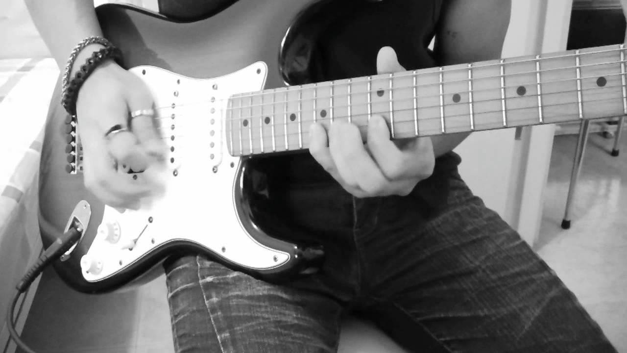 黃品源-你怎麼捨得我難過 Guitar Solo cover by Franklin Tam - YouTube