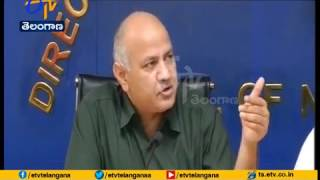 BJP Colluding with Delhi Police in Hatching Conspiracy to Attack CM Arvind Kejriwal | Manish Sisodia