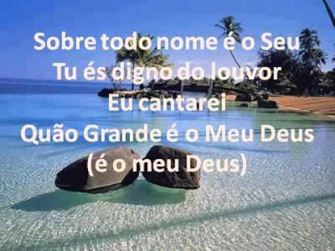 Quão Grande é o Meu Deus Soraya Moraes (Playback Legendado) Tom 1º Mezzo
