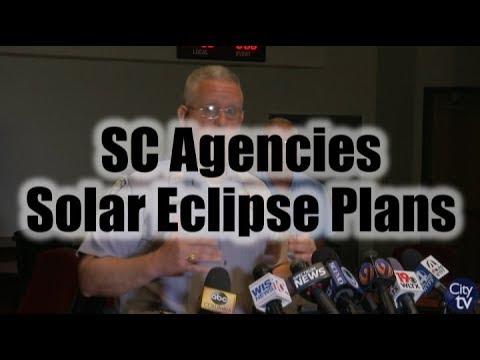South Carolina Agencies Discuss Solar Eclipse Plans