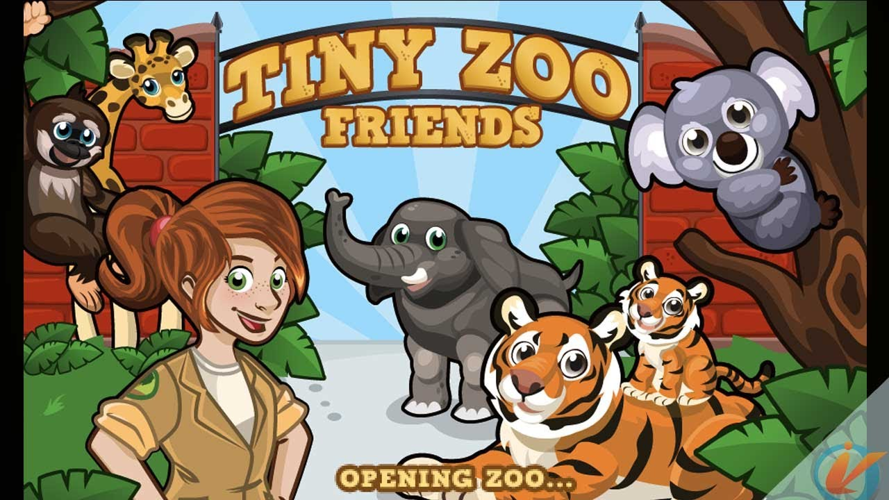 tiny zoo friends iphone game trailer youtube. Black Bedroom Furniture Sets. Home Design Ideas