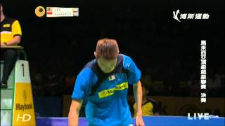 [HD] Final - MS - LEE Chong Wei vs Tommy SUGIARTO - 2014 Maybank Malaysia Open