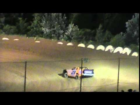 Crowley's Ridge Raceway 5/17/2014 Chris Sims Street Stock Feature Race