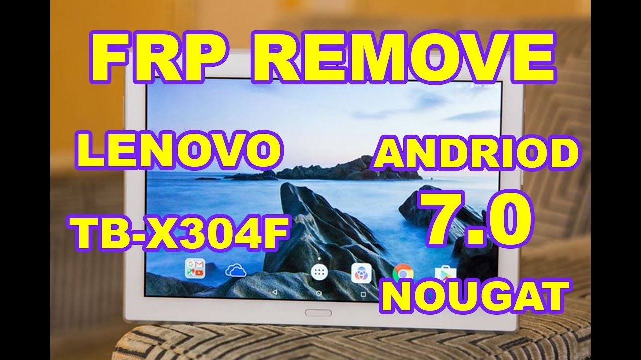 FRP Bypass Lenovo Tab A8-50 by PLANTROON