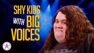 10 Shy Kids with BIG Voices on Talent Shows Worldwide!