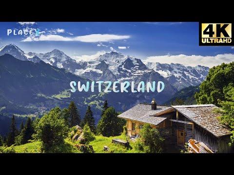 Beauty of Switzerland in 4K