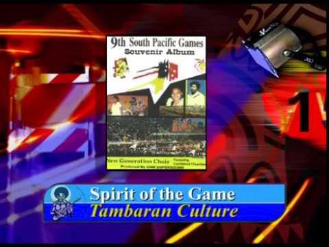 9th SOUTH PACIFIC GAMES SOUVENIR ALBUM