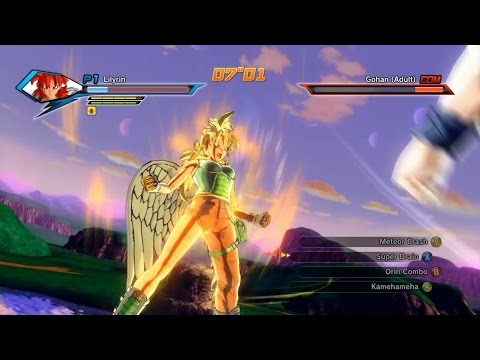 Melee Build Xenoverse  Saiyan Vs Earthling