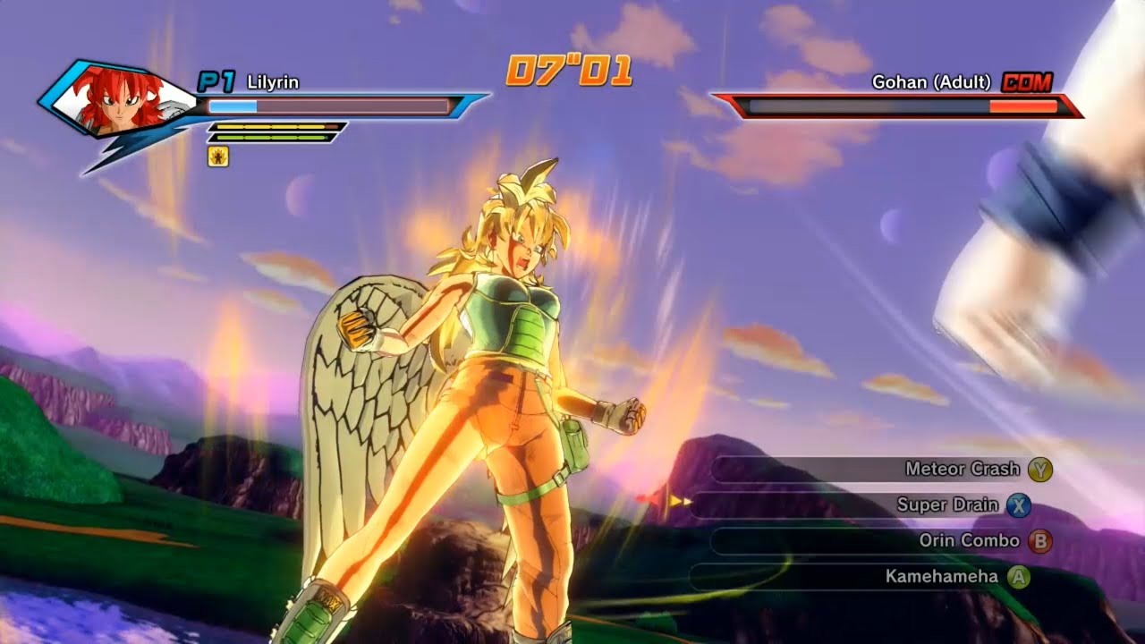 Dbz Xenoverse  Builds Human
