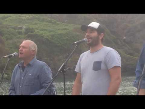Port Isaac's Fisherman's Friends singing John Kanaka 2017.