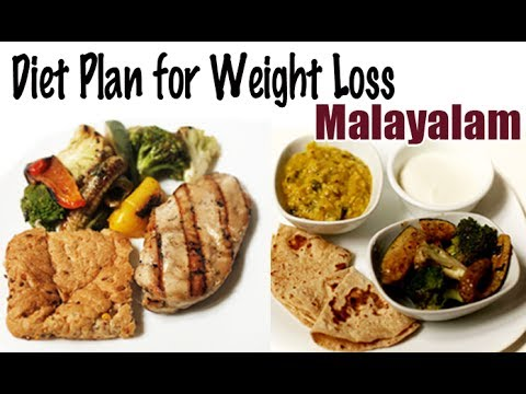 1900 Calories Diet for Weight Loss - Malayalam - YouTube