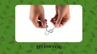 Match Box Puzzles - Yin And Yang