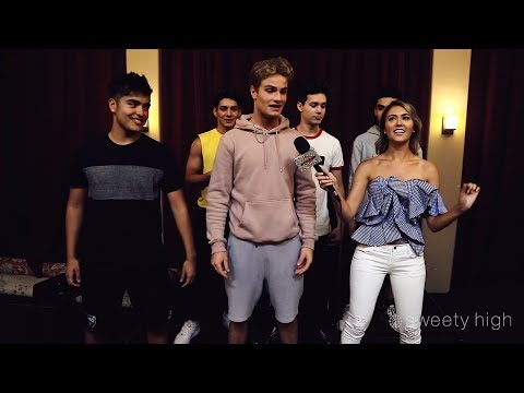 IN REAL LIFE Teaches Us Choreography at AMERICAN IDOL: LIVE! Tour Rehearsals