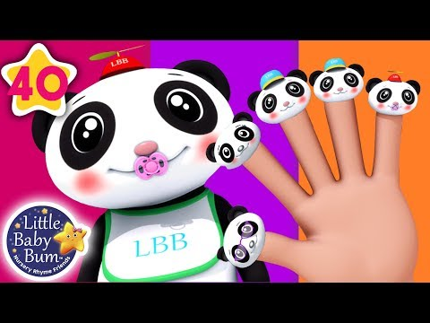 Finger Family Panda | Finger Family Song +More Nursery Rhymes & Kids Songs | Little Baby Bum