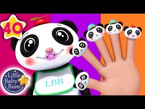 Cantec nou: Finger Family Panda | Finger Family Song +More Nursery Rhymes & Kids Songs | Little Baby Bum