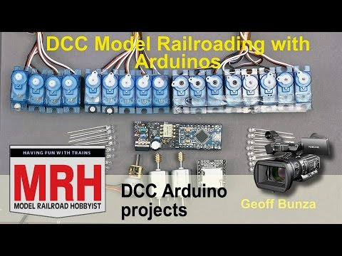 DCC Arduino projects for model trains | March 2017 Model Railroad Hobbyist | Geoff Bunza
