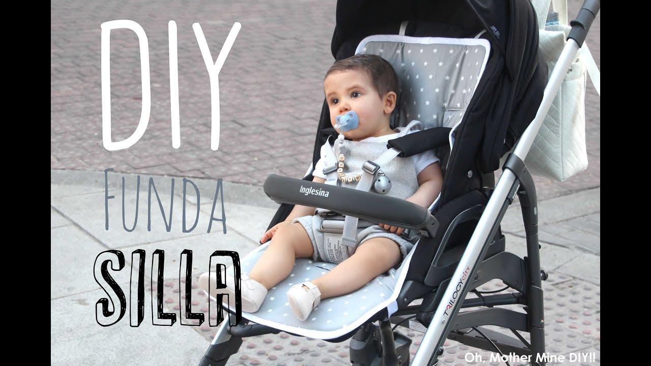 Diy tutorial y patrones de funda para silla de bebe youtube for Bebe 3 meses silla paseo