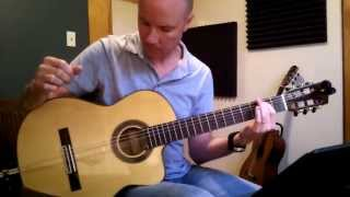Massive Attack: Teardrop (for classical guitar)