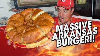 Ed Walker's 5lb Drive In Burger Challenge!!