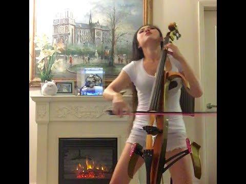 Tina Guo  Dubstep Cello Lindsey Stirlings Crystallize
