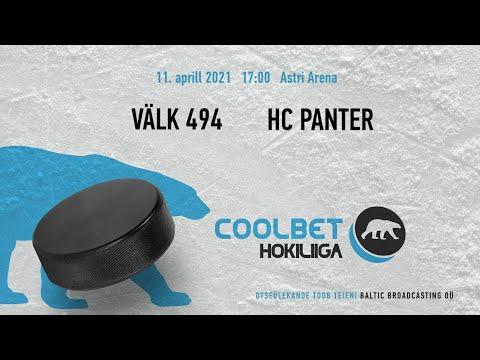 Välk494 - HC Panter väravad, 11.04.2021 - Coolbet Hokiliiga