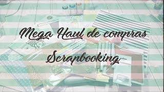 Mega Haul de compras Scrap: Kimidori, Kora projects, Mas scrap, aliexpress, etc...
