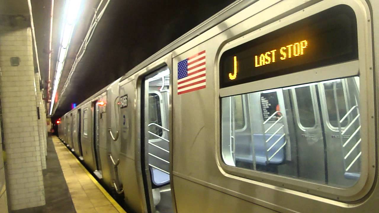 MTA New York City Subway On Board RA J Train From Canal St To - Nyc subway map j train