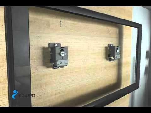 Instalação de suporte de tv de led, lcd , 3d, plasma, com inclinação BH Ciadosuporte - YouTube