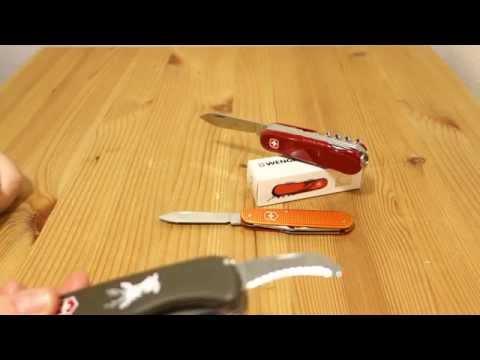 Wenger Evolution S17 Swiss Army Sak Edc Gear Werkzeug