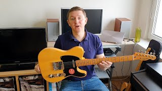 Squier Classic Vibe 50's Telecaster INDONESIA - worse than the Chinese?