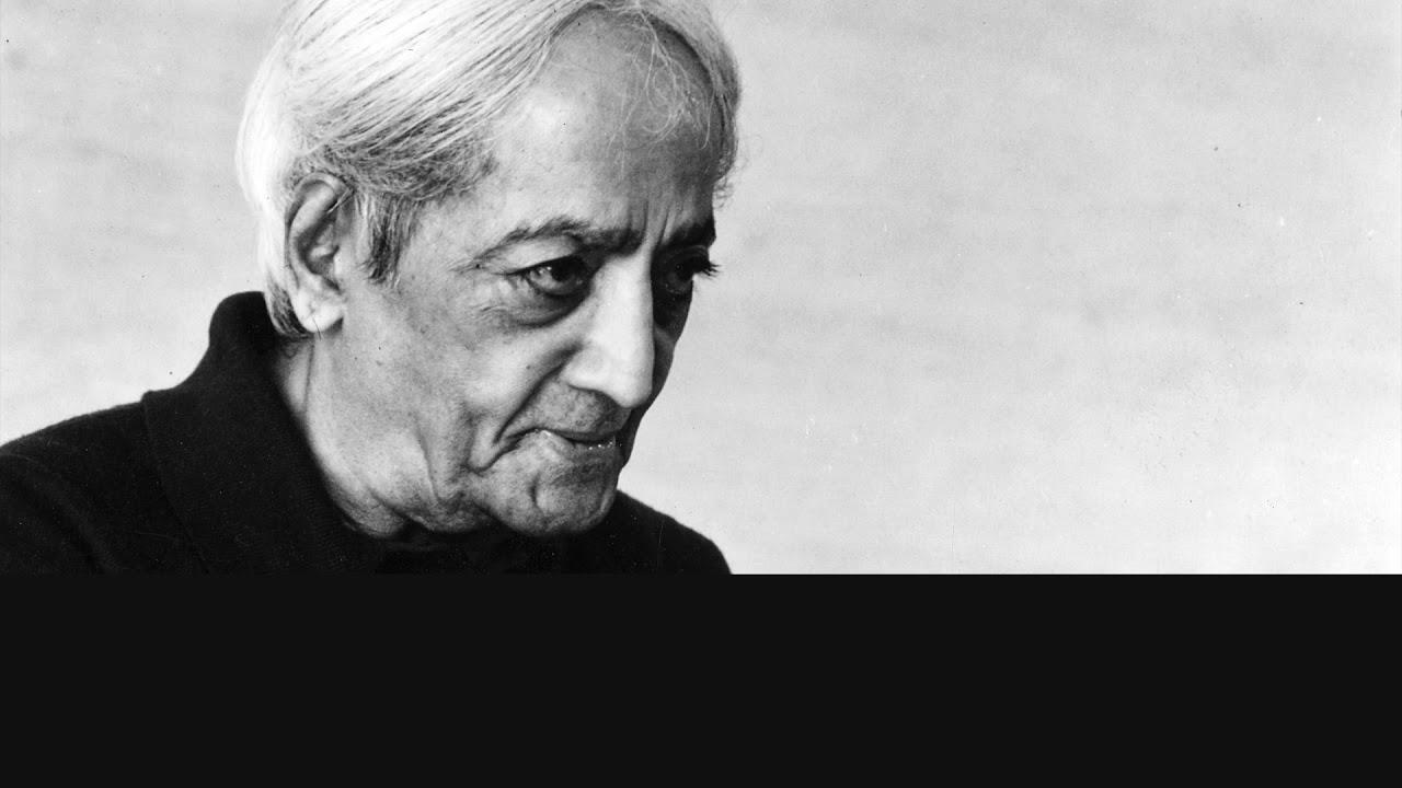 Audio | J. Krishnamurti - Ojai 1980 - Dialogue - What is living, actually?