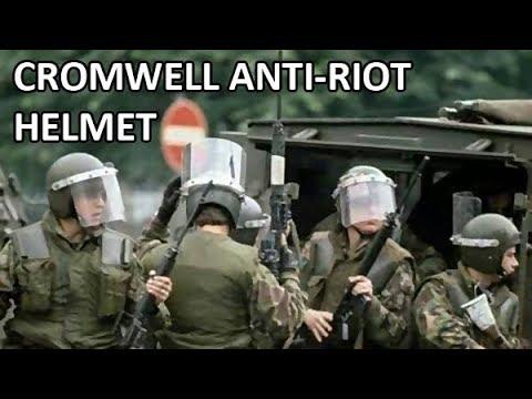 British Army 'Cromwell' Anti-Riot Helmet
