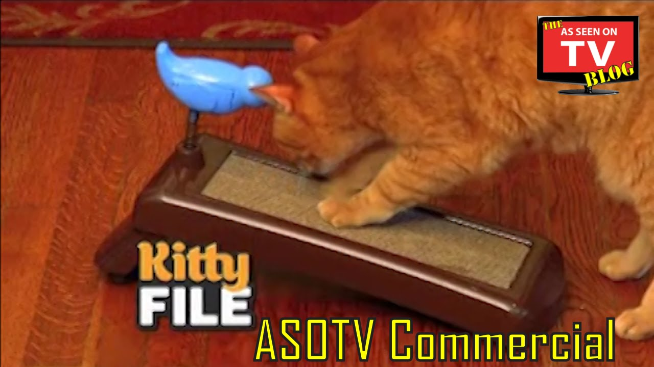 Kitty File As Seen TV mercial Buy Kitty File As Seen TV