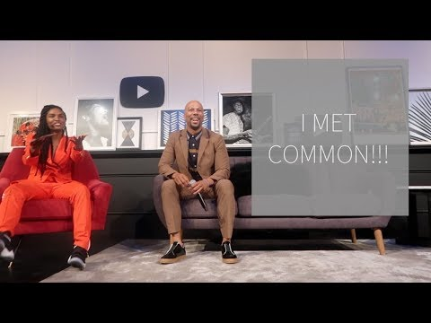 I MET COMMON | Britt's Space | A Vlog