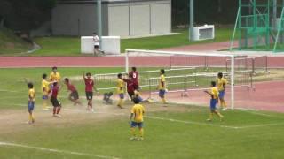2010學界精英足球決賽 譚李麗芬 對 聖方濟各