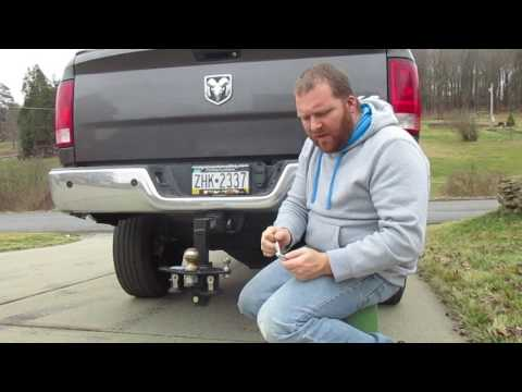 Trailer Hitch Pin Do Not Let Yours Fail!