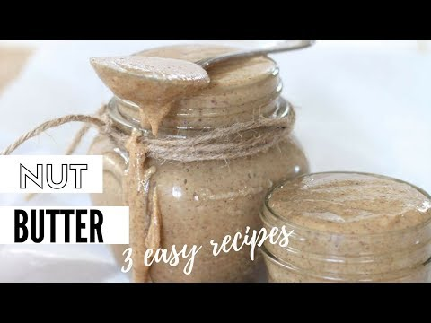 How To Make Nut Butter - Simply Vegan