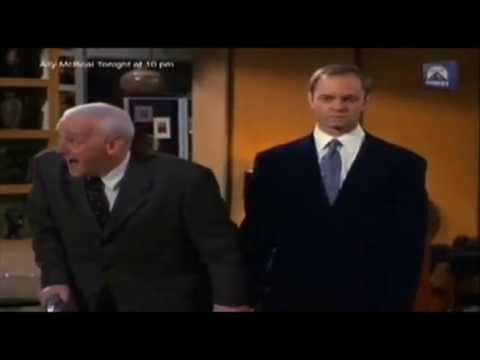 Frasier - Martin's 'boyfriend' Niles