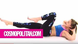 Sculpt a Sexy Yoga Core in 7 Minutes | Cosmopolitan