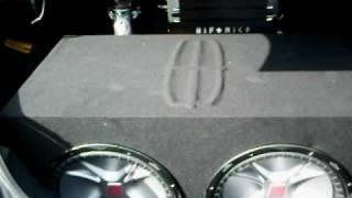 2000 watt hifonics brutus amp pushin 2 15 kicker cvr