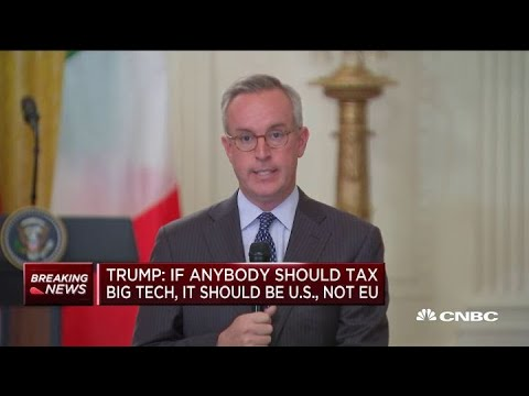President Trump comments on Turkey, ISIS and an EU trade war