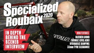2020 Specialized Roubaix | Amazing Interview - Suspension = Traction = Speed | Aero equal to Tarmac