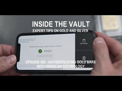 Testing Gold Bars – PAMP Suisse Veriscan Authentication Technology